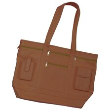 Art Genuine Leather Business Tote