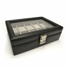 Debonair 10 Slot Watch Jewelry Box