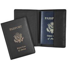 Art Foil Stamped Passport Jacket