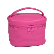 Genuine Leather Travel Cosmetic Makeup Bag