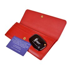 <strong>Royce Leather</strong> Freedom Women's Wallet with Bluetooth Tracker