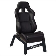 A4 Leather Gaming Chair Seat