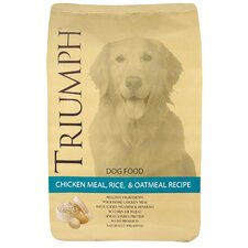 Chicken Meal Rice and Oatmeal Dry Dog Food