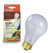 Day White Light Incandescent Bulb for Reptiles