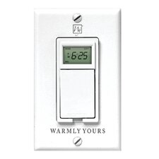 <strong>WarmlyYours</strong> Timer for Radiant Floor Heating Systems