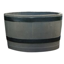 Oval Barrel Planter
