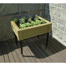 Adjustable Garden Table with Casters