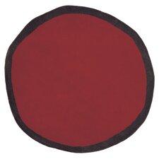Aros Redonda Red Rug