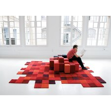 Do-Lo-Rez Red Area Rug