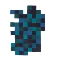 Do-Lo-Rez Blue Area Rug