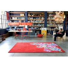 Formosa Red Area Rug