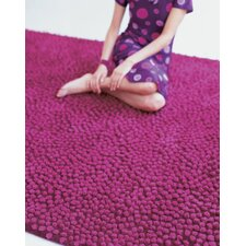 Topissimo Simple Fuchsia Area Rug