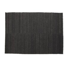 Earth Black Area Rug