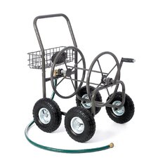 <strong>Liberty Garden</strong> Residential 4 Wheel Hose Reel Cart