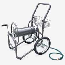 <strong>Liberty Garden</strong> Industrial 2 Wheel Hose Reel Cart