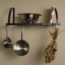 <strong>Advantage Components</strong> Expandable Wall Mount Pot Rack / Shelf