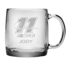 Nascar Denny Hamlin 13 oz. Coffee Mug with Personalization