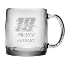 Nascar Kyle Busch 13 oz. Coffee Mug with Personalization