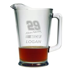 Nascar Individual 60 oz. Pitcher, Kevin Harvick with personalization