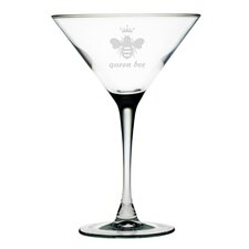 Queen Bee Martini Glass (Set of 4)