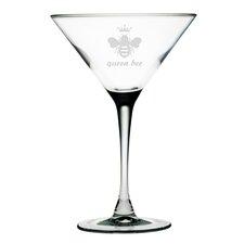 Queen Bee Martini GlassSet of 4)