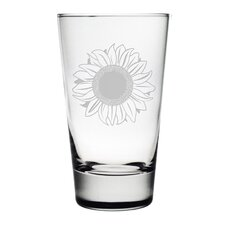 Sunflower Hiball Glass (Set of 4)