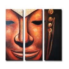 Radiance Nituna 3 Piece Original Painting on Canvas Set (Set of 3)