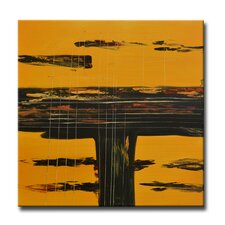 Radiance Amarillo Original Painting on Canvas