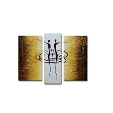 Radiance Seneca Canvas Art (Set of 3)