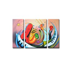 Radiance Tasia Canvas Art (Set of 3)