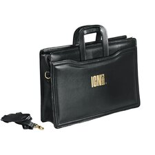 <strong>Goodhope Bags</strong> Bellino Portfolio Leather Briefcase