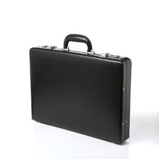 Bellino Slim Leather Attaché Case