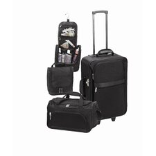 <strong>Goodhope Bags</strong> 3 Piece Luggage Set