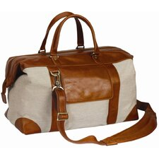 "<strong>Preferred Nation</strong> Tuscany Stefan 19.5"" Leather Travel Duffel"
