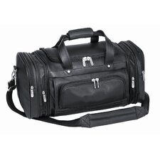 "<strong>Goodhope Bags</strong> Bellino 20"" Leather Expandable Carry-On Duffel"