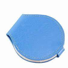 Compact Leather Mirror