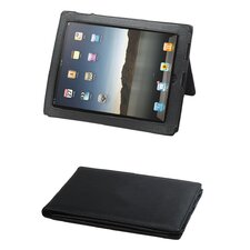 <strong>Preferred Nation</strong> Leather iPad Case in Black
