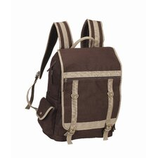 <strong>Goodhope Bags</strong> Expresso Laptop Backpack