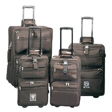 High Voltage Upright 3 Piece Luggage Set
