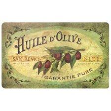 Cushion Comfort Vintage Olive Oil Mat