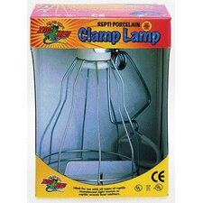 Wire Cage Porcelain Clamp Heat Lamp for Reptiles