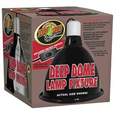 <strong>Zoo Med</strong> Lamp Clamp Reptile Deep Dome