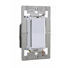 Leandro 1000W Decorator Single Pole/Three Way Dimmer in White
