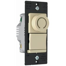 TradeMaster 700W Decorator Rotary Single Pole/Three Way Dimmer in Ivory