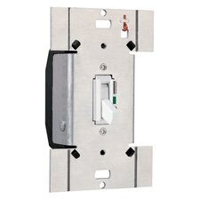 TradeMaster 600W Electronic Single Pole Switch/Three Way Preset Toggle Dimmer in Ivory