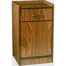 Bedside Cabinet, One Drawer and One Drawer