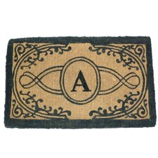 Imperial Bristol Printed Monogram Golden Doormat