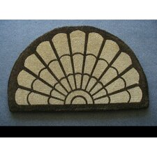 <strong>Geo Crafts, Inc</strong> Coco Fan Tail Doormat