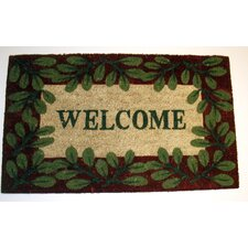 <strong>Geo Crafts, Inc</strong> Welcome 2 Printed Doormat