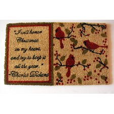 <strong>Geo Crafts, Inc</strong> Dickens Christmas Doormat